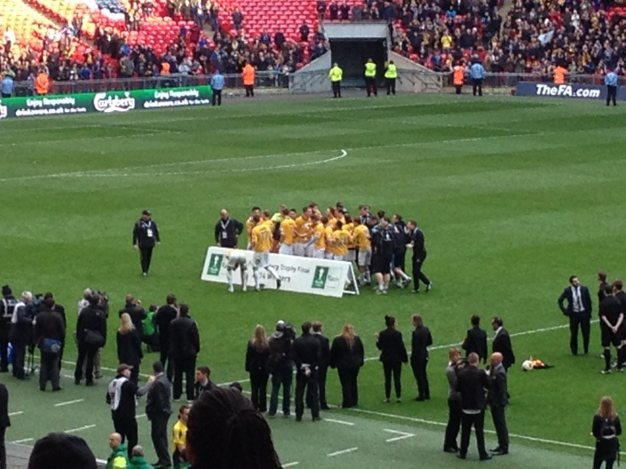 Cambridge United Celebrate